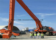 Durable EX1100 Hitachi Excavator Boom Arm 32 Meters To Construct The Sea Port