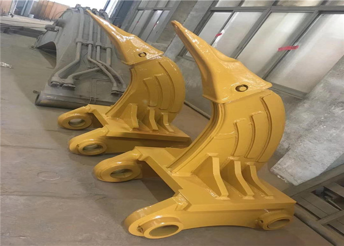 Heavy Duty Teeth Excavator Root Ripper Hitachi Excavator Attachments For Hard Rocks